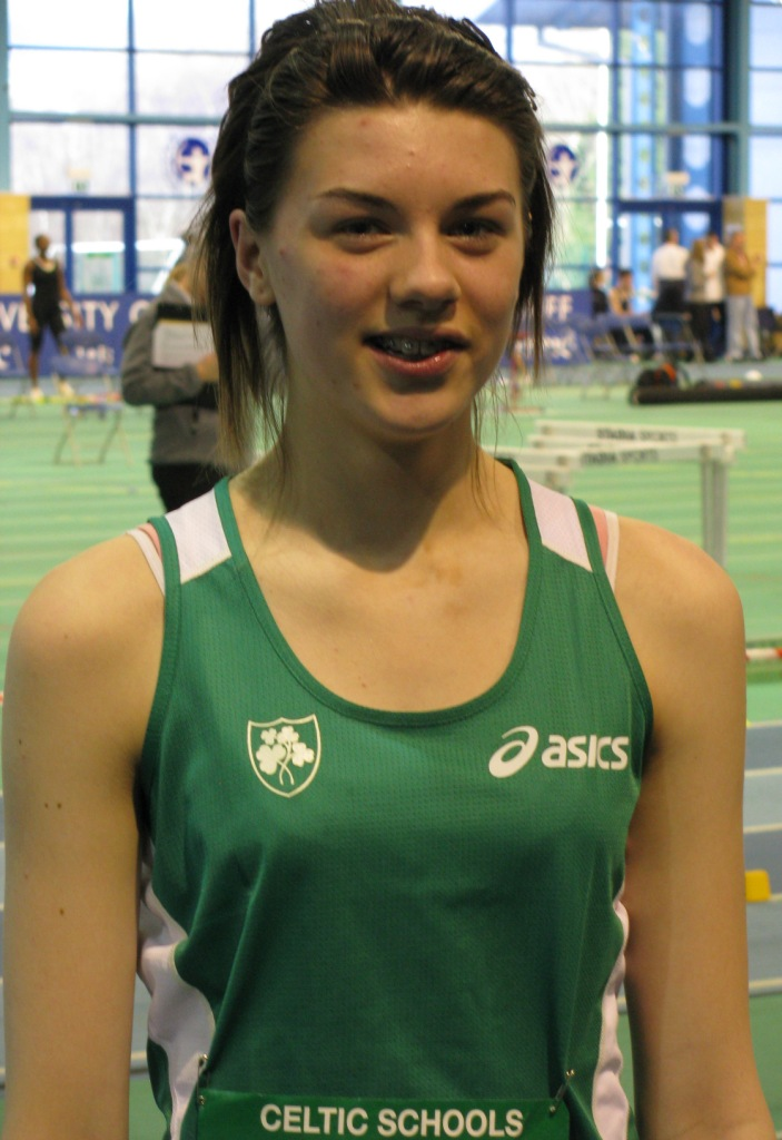 Emily Rogers at Celtic Schools' Internationals (Cardiff, February 2009)
