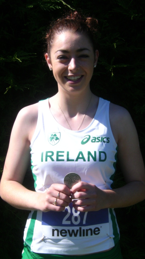 Olivia McDonald at European Team Championships (Slovakia, June 2009)